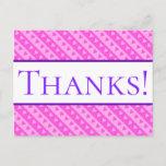 "[ Thumbnail: Customizable ""Thanks!"" Postcard ]"