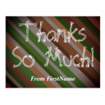 "[ Thumbnail: Customizable ""Thanks So Much!"" Postcard ]"