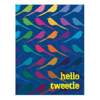Customizable: The birds Postcard