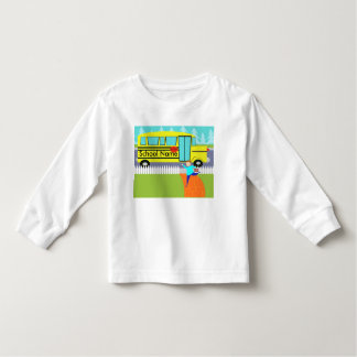 Customizable the Catching School Bus T-Shirt