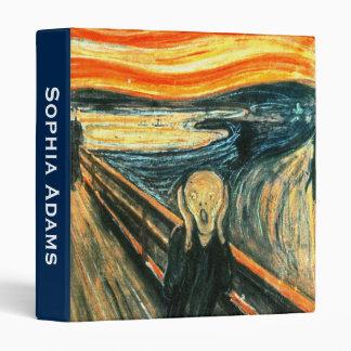 Customizable The Scream by Edvard Munch Binder
