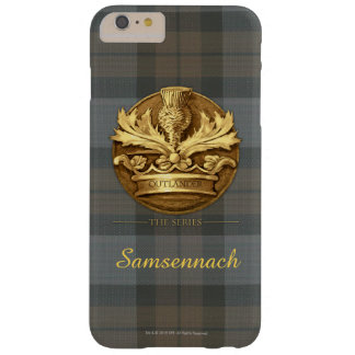 Customizable Thistle of Scotland Emblem Barely There iPhone 6 Plus Case