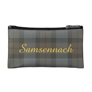 Customizable Thistle of Scotland Emblem Cosmetic Bag