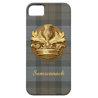 Customizable Thistle of Scotland Emblem iPhone SE/5/5s Case