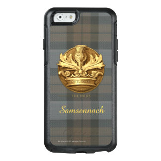 Customizable Thistle of Scotland Emblem OtterBox iPhone 6/6s Case
