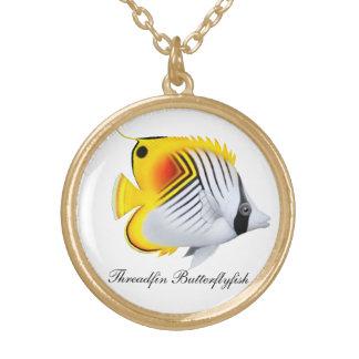 Customizable Threadfin Butterflyfish Necklace
