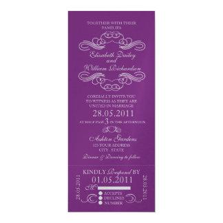 Customizable Ticket Invitation - No Background