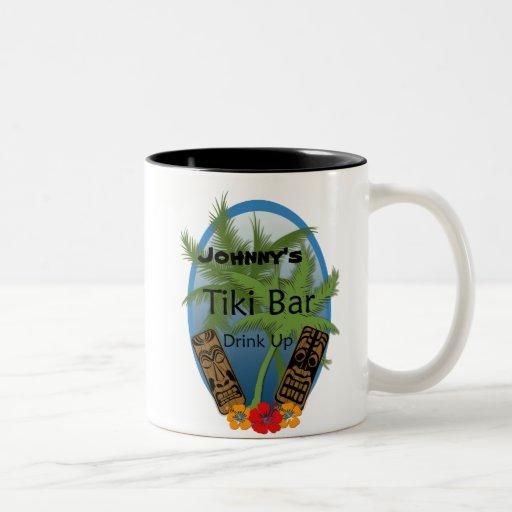 Customizable Tiki Bar Mug