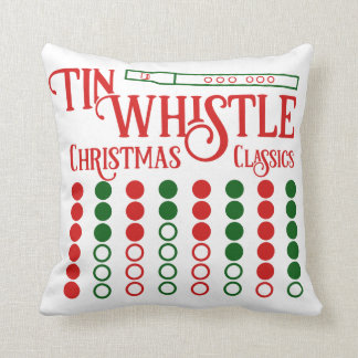 CUSTOMIZABLE Tin Whistle Christmas Classics Throw Pillow