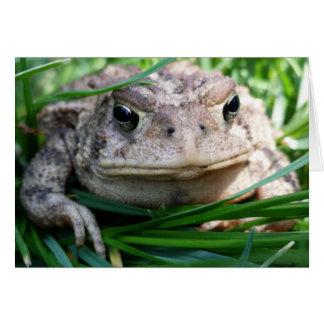Customizable toad card