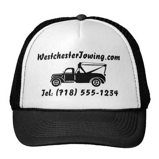 CUSTOMIZABLE Tow Truck Hat