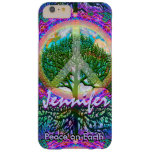 Customizable Tree of Life Peace Barely There iPhone 6 Plus Case