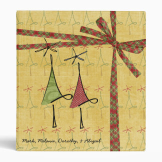 Customizable Trees Holiday Photo Binder