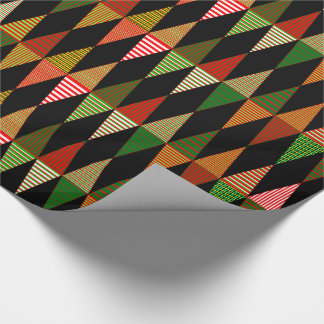 Customizable Tri Christmas Trees Wrapping Paper