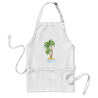 Customizable Tropics Adult Apron