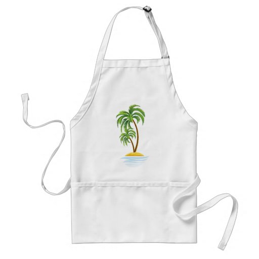 Customizable Tropics Aprons
