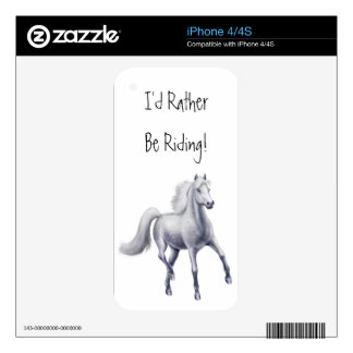 Customizable Trotting Dappled Gray Horse Zazzle Sk Skins For The iPhone 4S