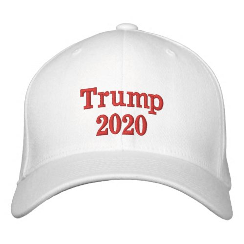 Customizable Trump 2020 Embroidered Hat