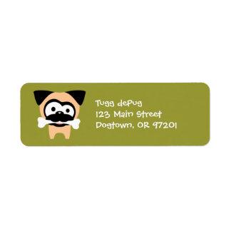 Customizable Tugg Bone! Return Address Labels