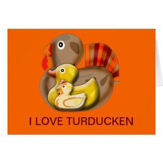 Customizable Turducken Design Card