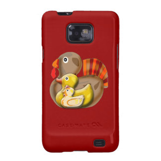 Customizable Turducken Design Galaxy SII Case