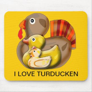 Customizable Turducken Design Mouse Pad