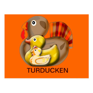 Customizable Turducken Design Post Card
