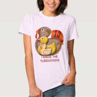 Customizable Turducken Design T-Shirt