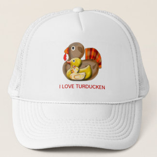 Customizable Turducken Design Trucker Hat