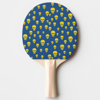 Customizable Two Sided Pop Skulls Ping Pong Paddle
