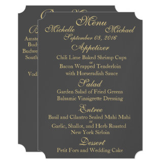 Two Sided Wedding Invitations Announcements Zazzle