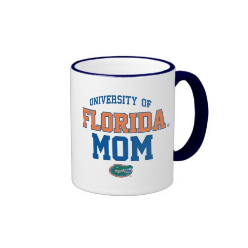 Customizable UFL Orange and Blue Gator Family Coffee Mug