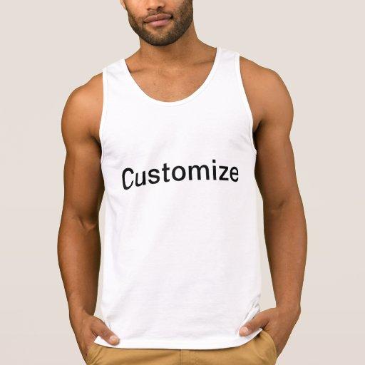 Customizable Ultra Cotton Tank Top