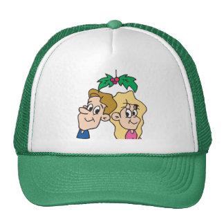 Customizable Under the Mistletoe Gifts Trucker Hat