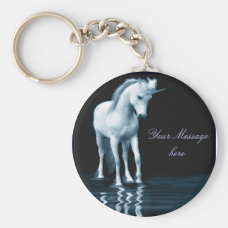 Customizable unicorn keychain