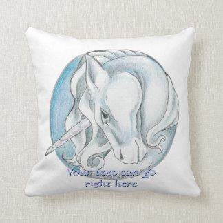 Customizable Unicorn Pillow