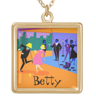 Customizable Urban Rooftop Party Necklace