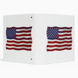 Customizable US Flag Binder