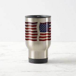 Customizable US Flag Mug