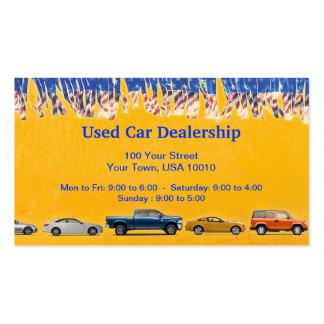 CUSTOMIZABLE Used Car Dealer Business Cards