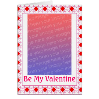 Customizable Valentine Photo Card