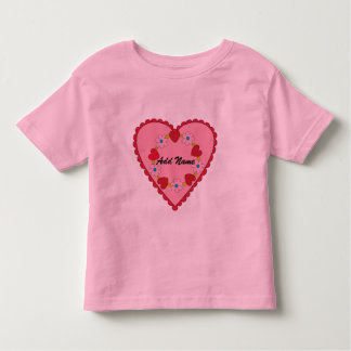 Customizable Valentine Toddler T-shirt