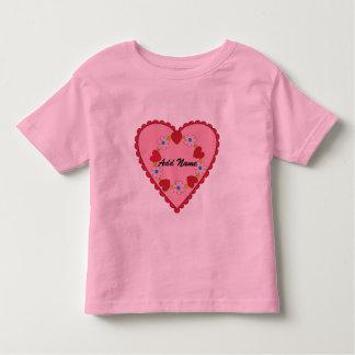 Customizable Valentine Toddler T-shirt