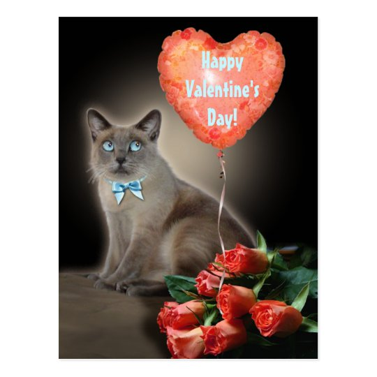 Customizable Valentine's Postcard