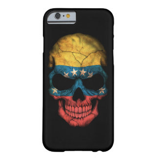 Customizable Venezuelan Flag Skull Barely There iPhone 6 Case
