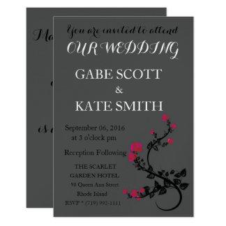Customizable Verse WEDDING INVITATION