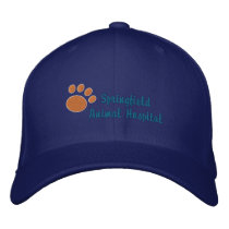 Customizable Veterinary Embroidered Baseball Hat