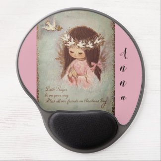 Customizable vintage angel gel mouse pad, mousepad
