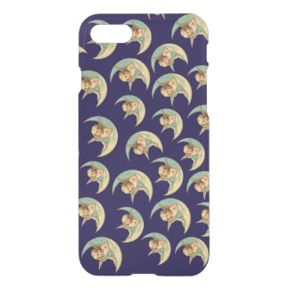 Customizable Vintage Angels in Crescent Moons iPhone 8/7 Case