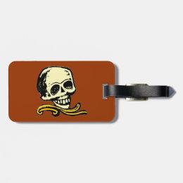 Customizable Vintage Decorative Skull Bag Tag
